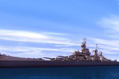 USS Iowa 1945